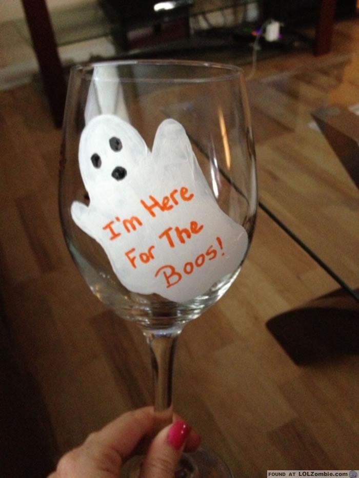 Ghost Wine Glass