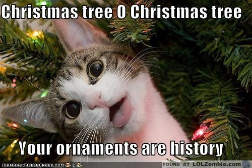 Oh Christmas Tree... Your Ornaments are History