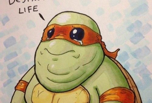 Fat Ninja Turtle