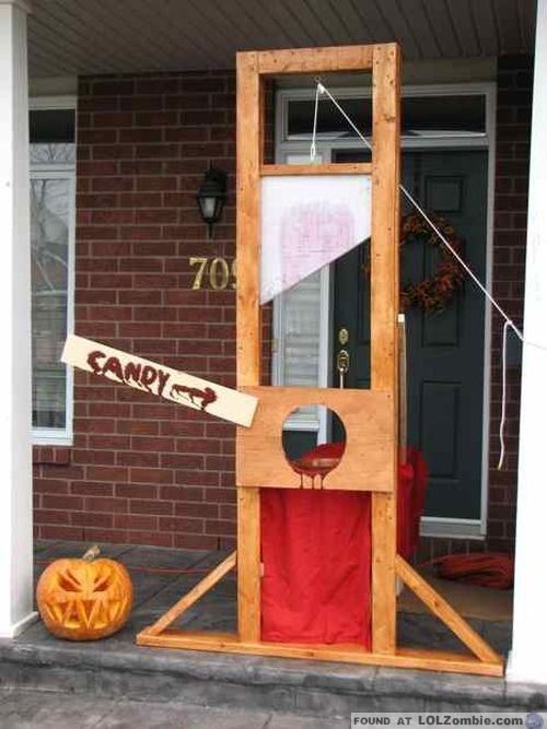 candy guillotine