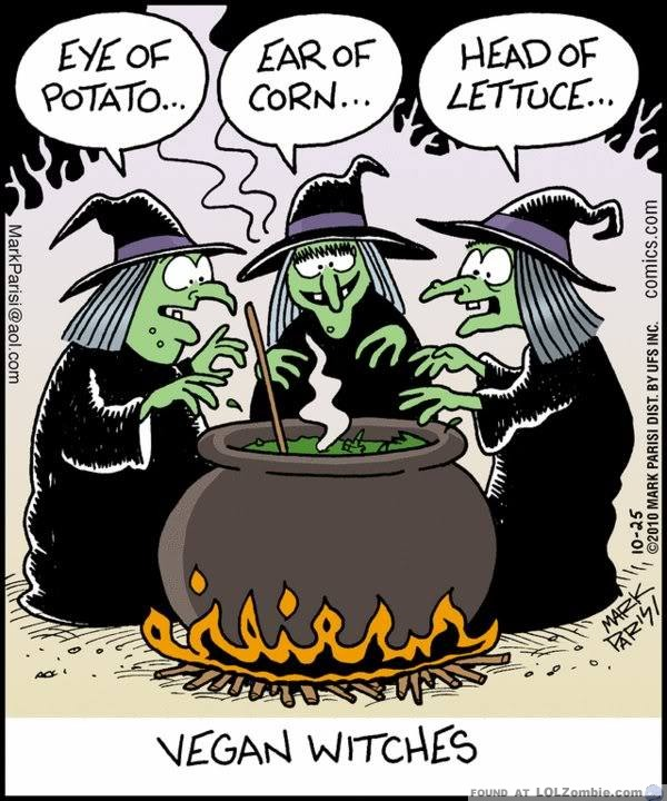 vegan witches