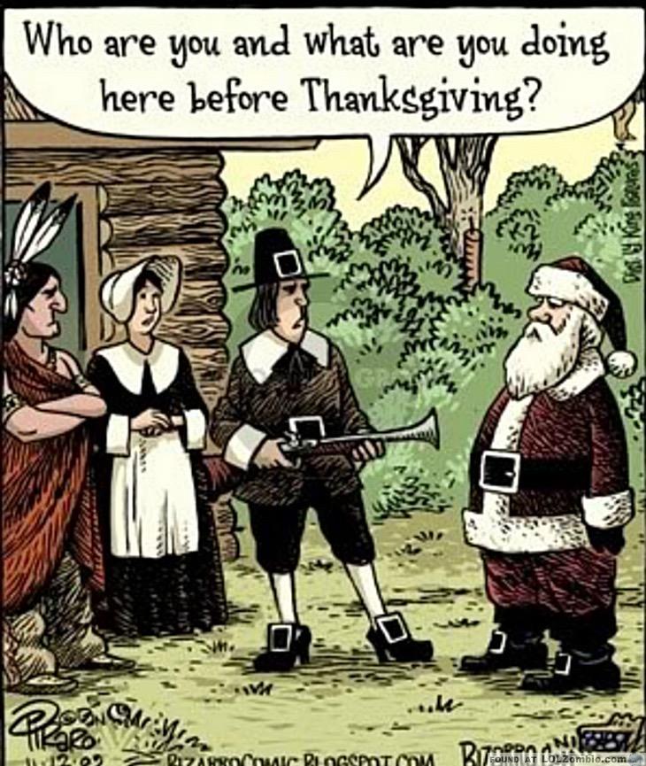 thanksgiving santa