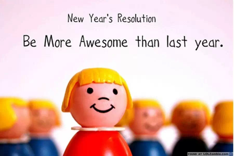 Awesome New Years' Resolution