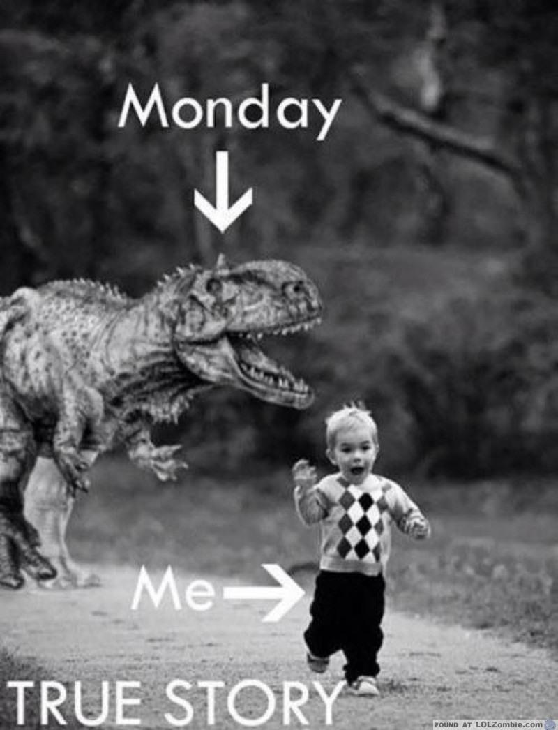 Monday Dinosaur