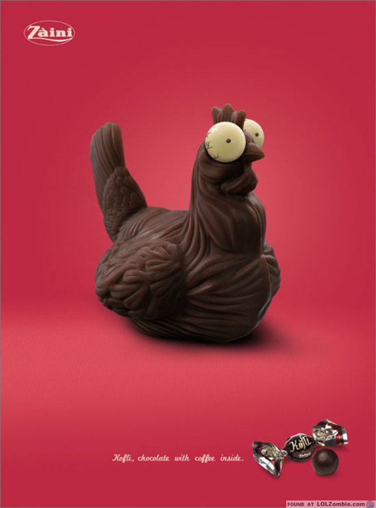 Chocolate Easter Chicken