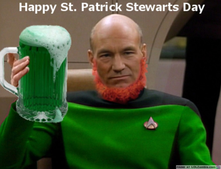 St Patrick Stewarts Day
