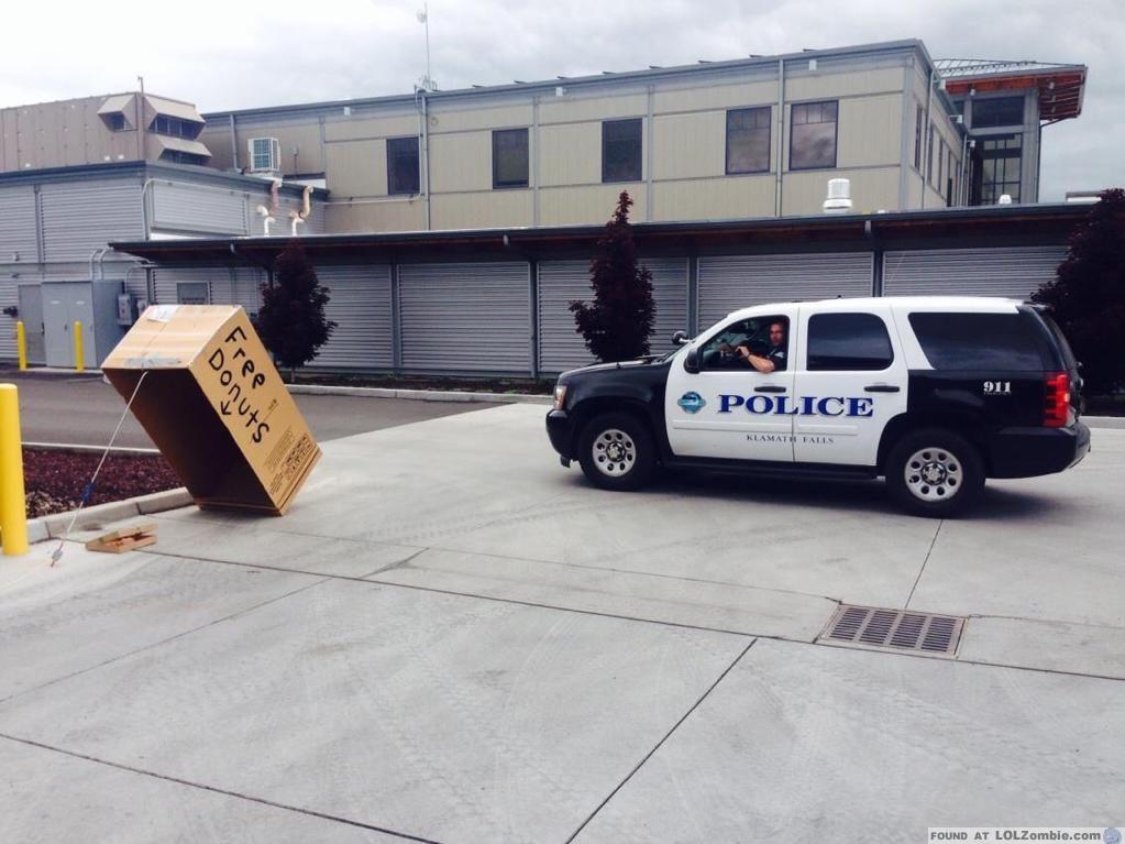 Free Donuts vs Cops