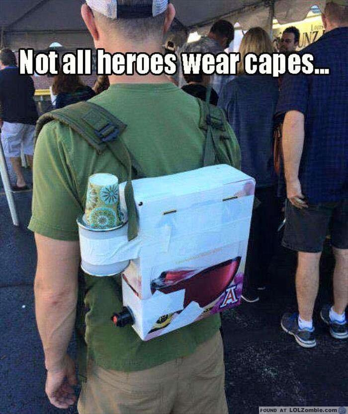 Hero Wine Box