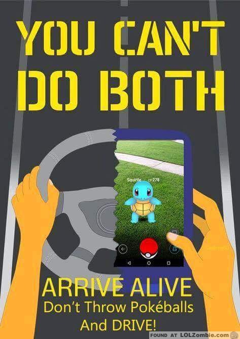 Arrive Alive Pokemon Poster