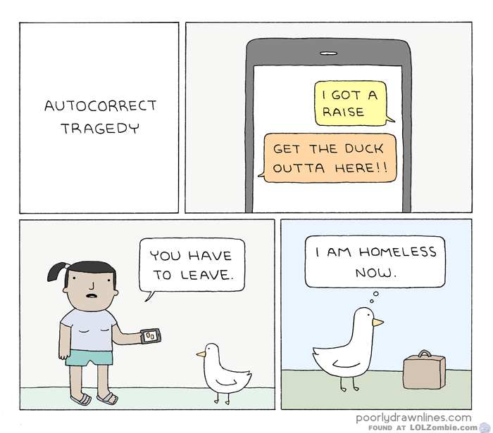 Duck Leaving Home