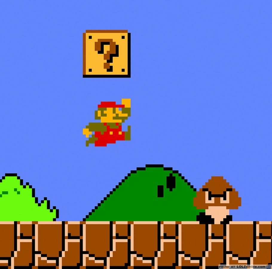Homeless Mario?
