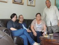 44 Aniversario con Jesus y esposa