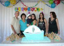 Familia Cuba Maximino Péres cumpleaños