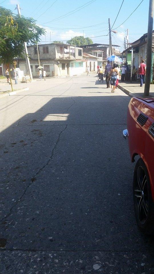 Calle Serafin Sanchez.