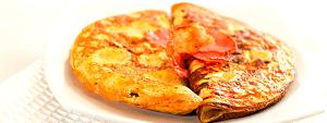Tortilla de bacon - Siken Diet - Método DietLine - 7 sobres