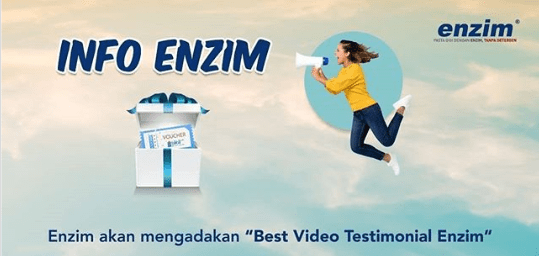 Lomba Best Video Testimonial Enzim