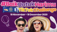 lomba video tiktok aice