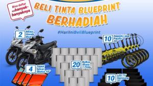 promo undian beli blueprint berhadiah sepeda motor