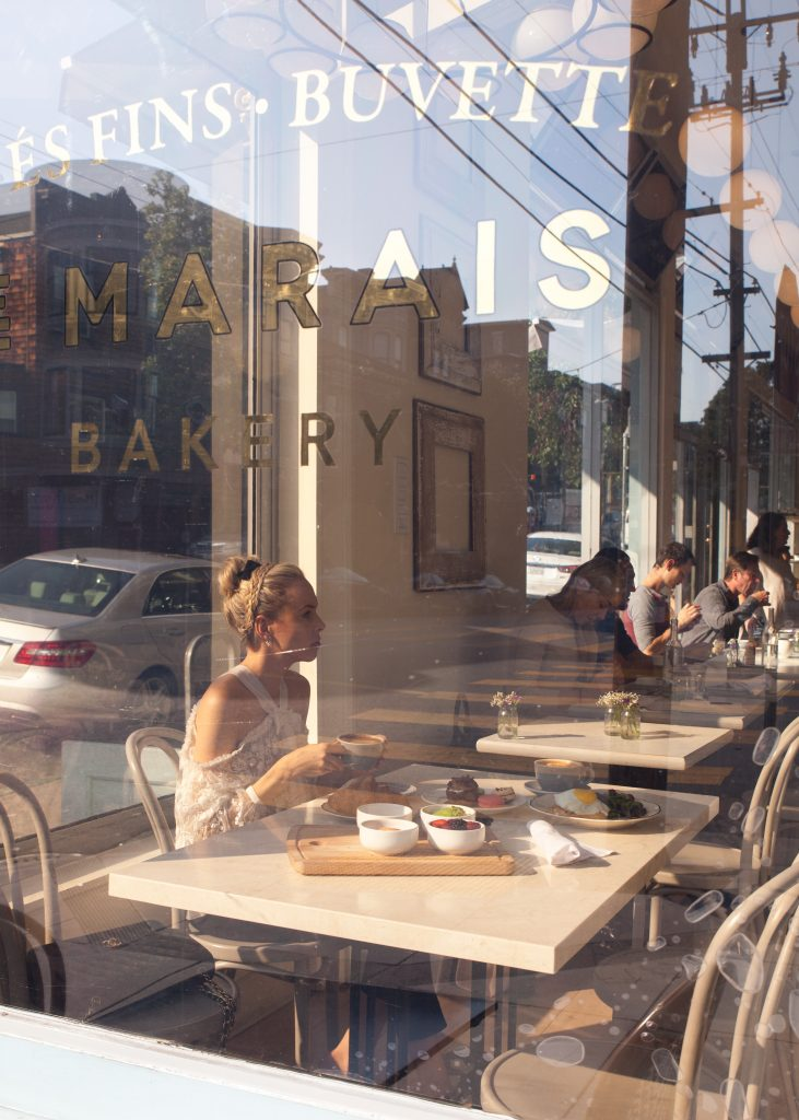 Chic Brunch Le Marais Bakery