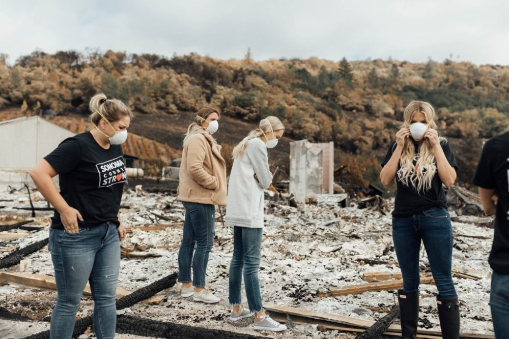 sonoma strong fire relief