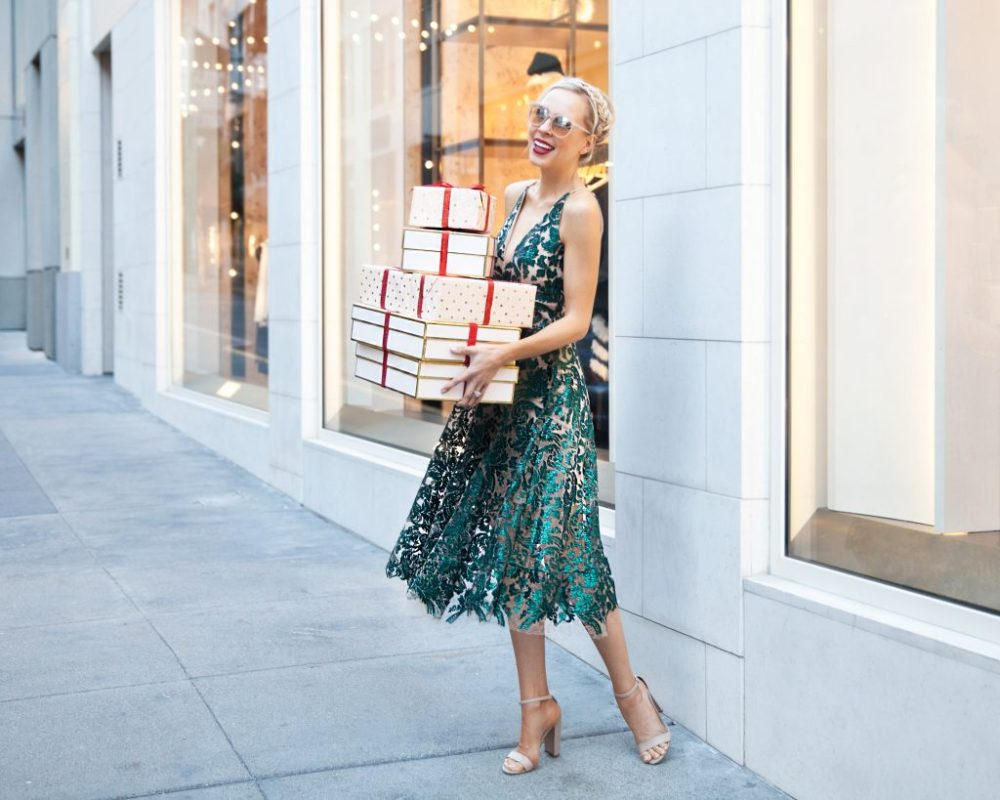 holiday dress guide sequin sparkle by Veronica Levy of Lombard & Fifth