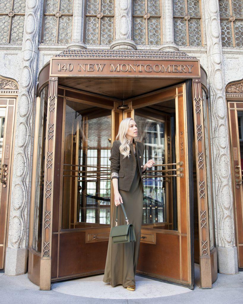 Angela Roi Elouise satchel in san francisco