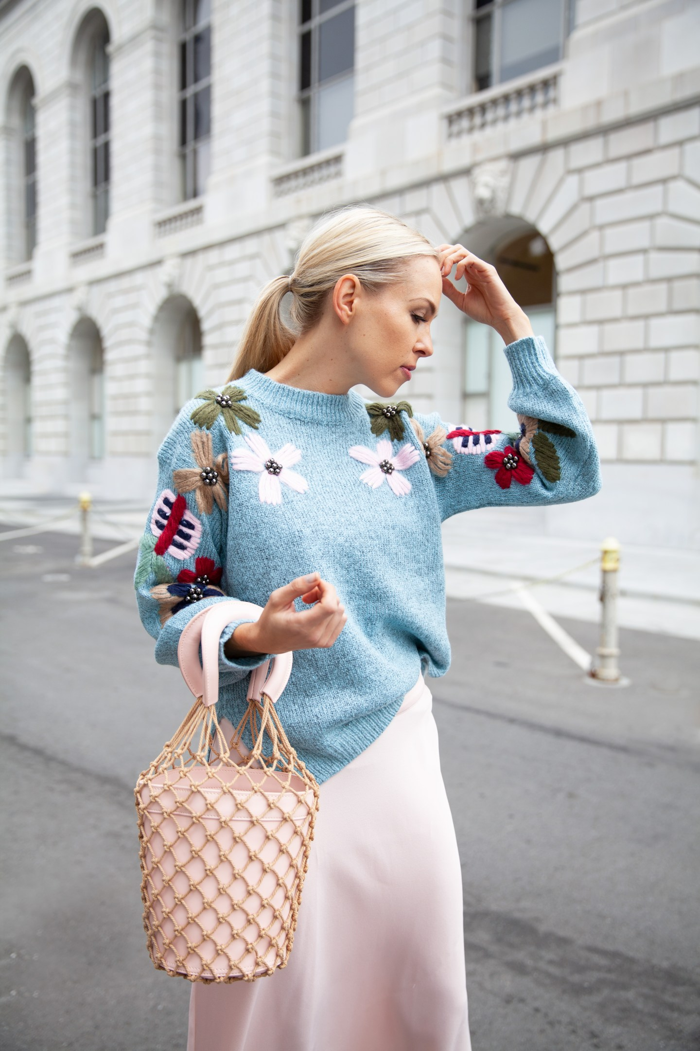 Allison Statement Sweater featured by top San Francisco fashion blog, Lombard and Fifth