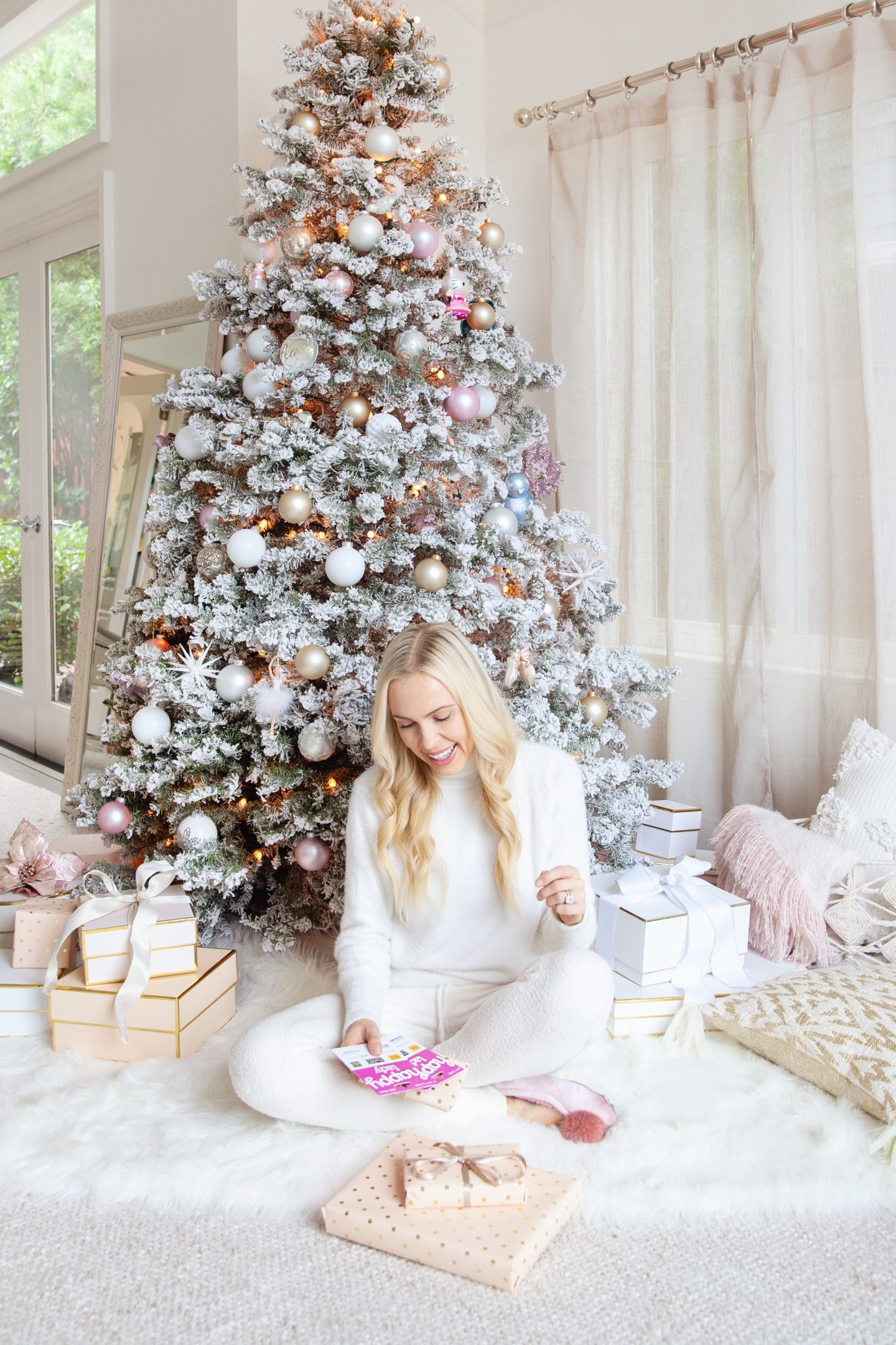 Happy cards gift giving top featured by top San Francisco fashion blogger Lombard and Fifth