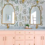 Floral Bathroom Remodel Reveal Lombard And Fifth