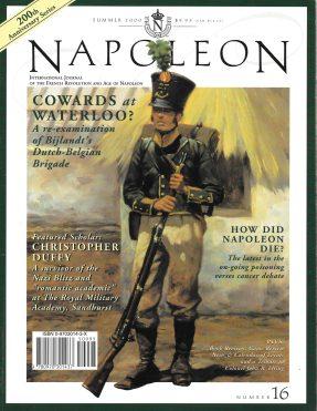 Napoleon issue #16 cover