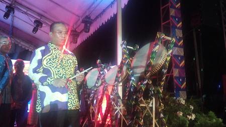 160409-Wakil Gubernur NTB akan memukul rebana saat pembukaan acara Festival Pesona Tambora di Mataram
