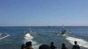 lomba perahu jukung