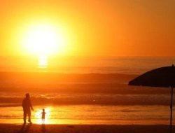 Viral Matahari Terbit dari Utara di Jeneponto