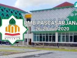 PMB Pascasarjana Gelombang II UIN Mataram