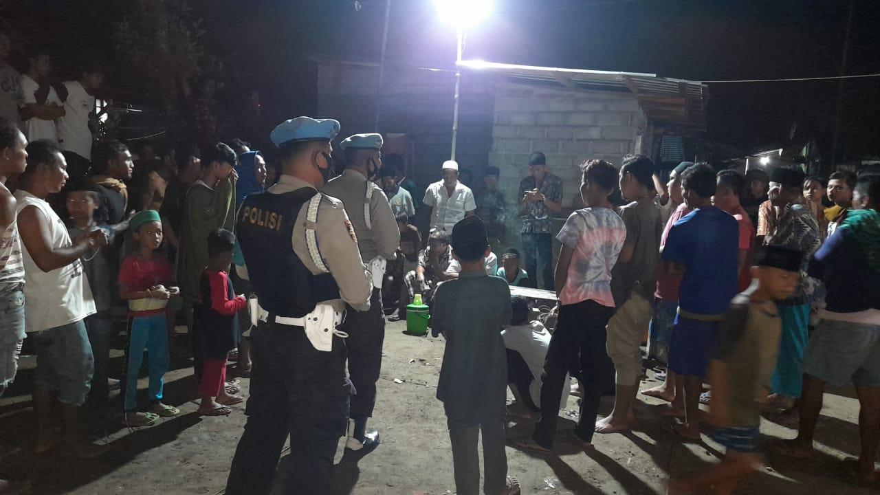 Cegah Kerumunan, Lomba Gangsing di Lembar Dibubarkan