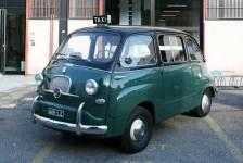 la Seicento taxi anni Sessanta
