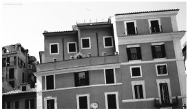 Roma ora di pranzo, foto di Angela Greco