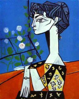Picasso Jacqueline Roque
