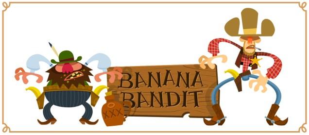 Banan-Cowboy-bandit-far-west-western-gun-slinger-clint-eastwood-spaghetti-banane-dead-alive