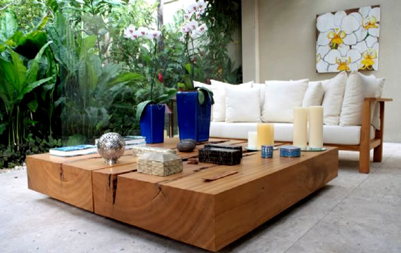Modern outdoor table  httplometscom