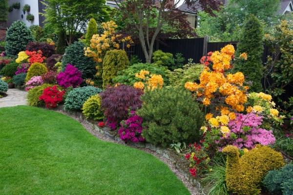 flower garden border http