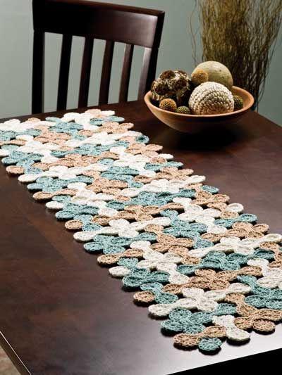 crochet table runner  httplometscom