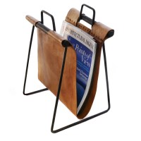 leather magazine holder   http://lomets.com