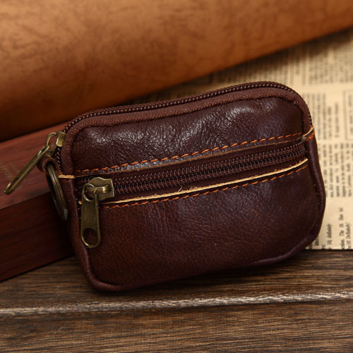 leather coin purse with zipper  httplometscom