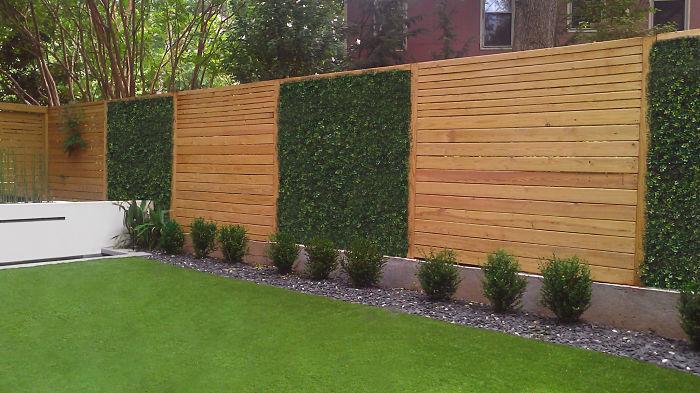 modern fence planter  httplometscom