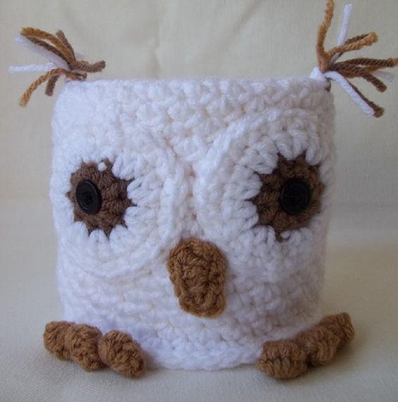 crochet toilet paper cover  httplometscom