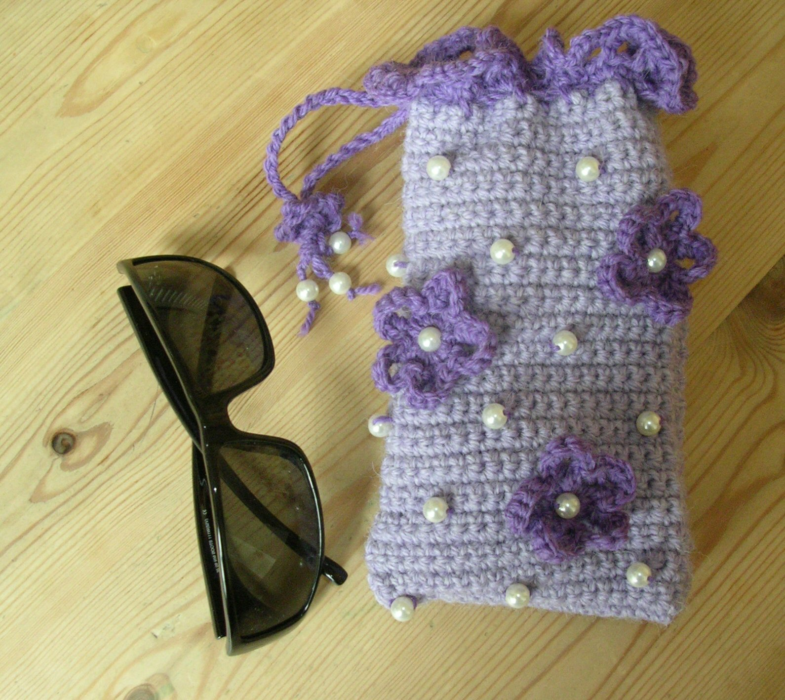 crochet Sunglasses Case  httplometscom