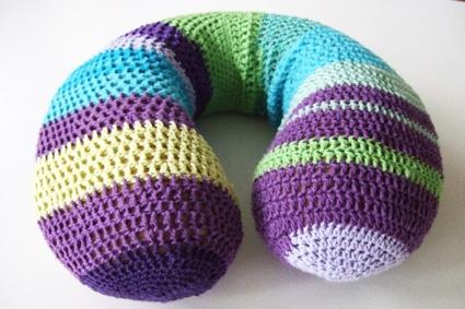 crochet neck pillow  httplometscom