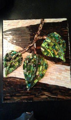 mosaic leaves  httplometscom