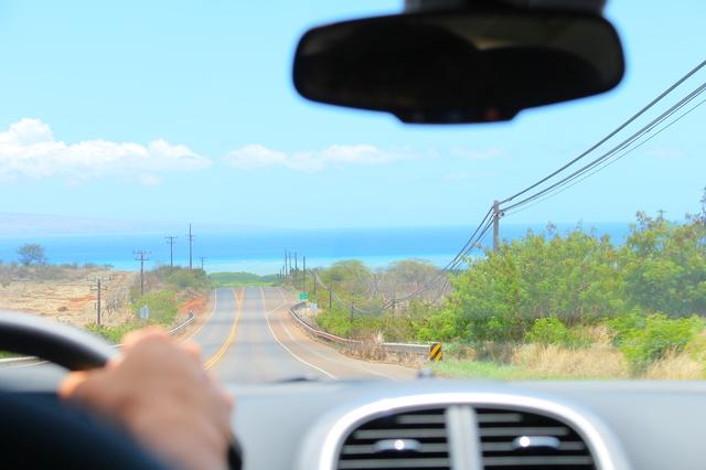 ハワイでレンタカー
